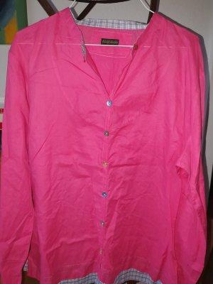 Napapijri Shirt Blouse raspberry-red-magenta cotton