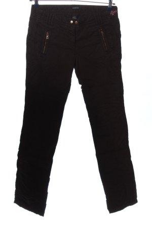 Napapijri Low-Rise Trousers brown casual look