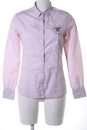 Napapijri Long Sleeve Shirt pink business style