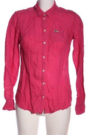 Napapijri Langarmhemd pink Casual-Look