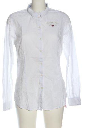 Napapijri Long Sleeve Shirt themed print casual look