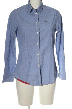 Napapijri Camisa de manga larga azul estilo «business»