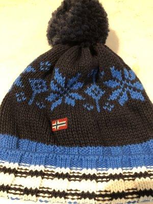 Napapijri Cappello a maglia multicolore Tessuto misto