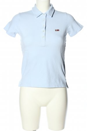 Napapijri Polo-Shirt blau Casual-Look