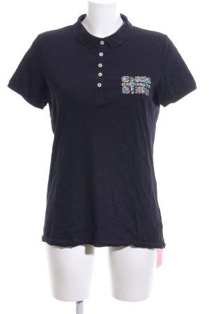 Napapijri Polo-Shirt blau Casual-Look