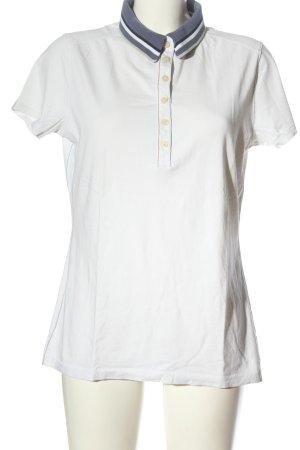 Napapijri Camiseta tipo polo blanco estilo sencillo