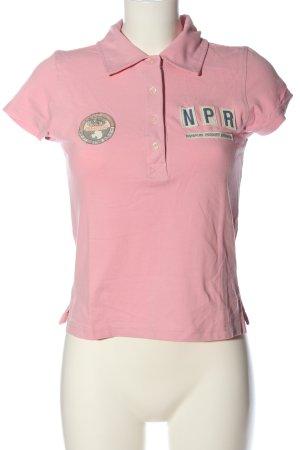 Napapijri Polo Shirt pink casual look