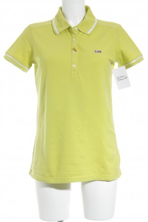 Napapijri Polo-Shirt neongrün Casual-Look