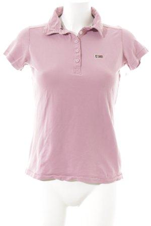 Napapijri Polo-Shirt rosa Segel-Look