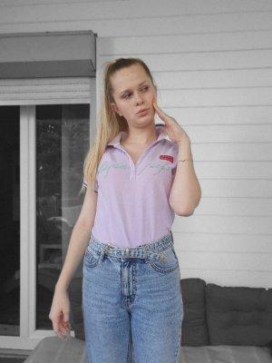 Napapijri Koszulka polo jasny różowy-bladofiołkowy