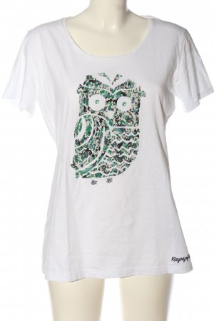 Napapijri Print-Shirt Motivdruck Casual-Look