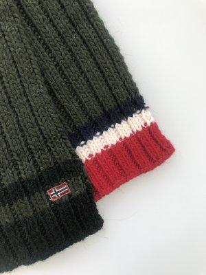 Napapijri Sciarpa lavorata a maglia multicolore