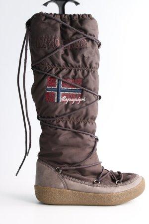 Napapijri Snowboots bronzefarben Casual-Look