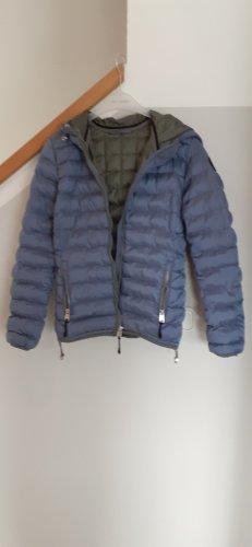 Napapijri Quilted Jacket azure polyamide