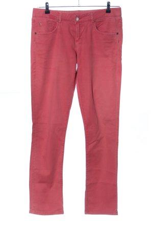 Napapijri Straight-Leg Jeans rot Casual-Look