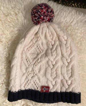 Napapijri Chapeau en tricot multicolore