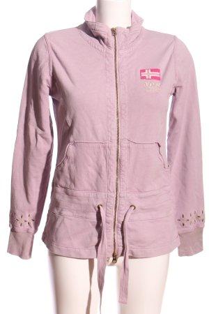 Napapijri Sweatjacke pink Casual-Look