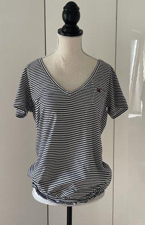 Napapijri T-Shirt white-black