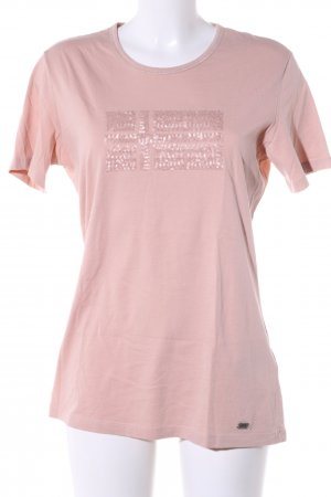 Napapijri T-Shirt pink Motivdruck Casual-Look