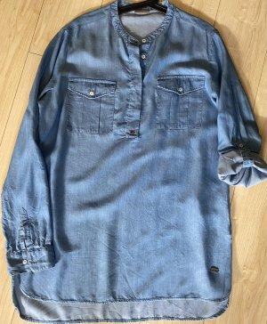 Napapijri Tunika Bluse Jeansblau- XL