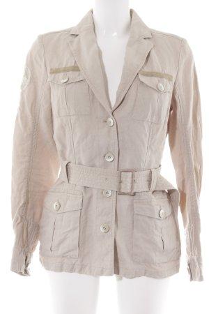 Napapijri Übergangsjacke beige Casual-Look