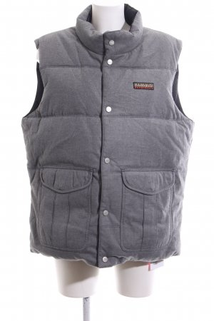 Napapijri Reversible Vest light grey flecked casual look