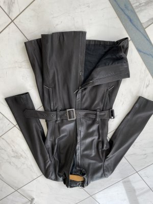 Blacky Dress Leather Coat dark brown leather
