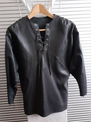 Leather Shirt black leather