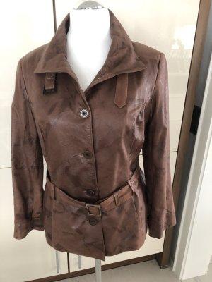 Bellucci Skórzana kurtka brązowy