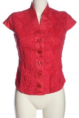 Naracamicie ärmellose Bluse rot Casual-Look