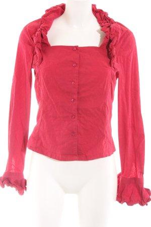 Naracamicie Langarm-Bluse rot extravaganter Stil