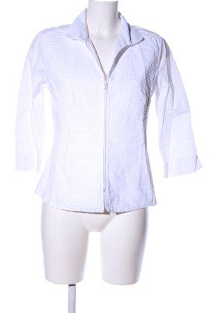 Naracamicie Langarm-Bluse weiß Streifenmuster Casual-Look