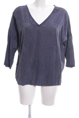 Narli Oversized Bluse blau Casual-Look