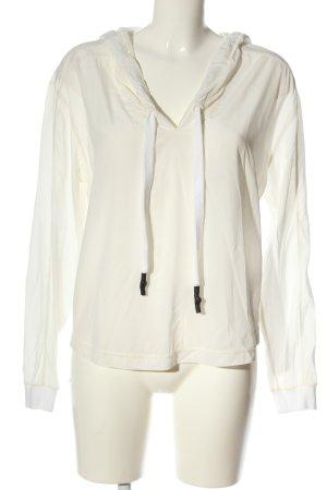 Narli Jedwabna bluzka w kolorze białej wełny W stylu casual