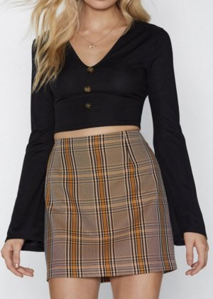 Nasty Gal Cropped top zwart