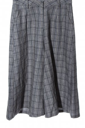 Nasty Gal Pantalone culotte motivo a quadri stile casual