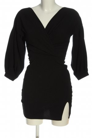 Nasty Gal Longsleeve Dress black party style