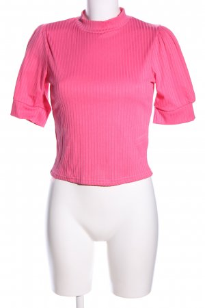 Nasty Gal Rippshirt pink Casual-Look