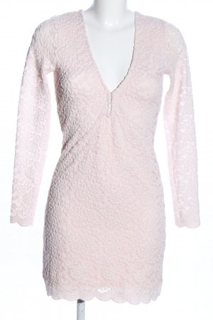 Nasty Gal Tube Dress pink flower pattern casual look