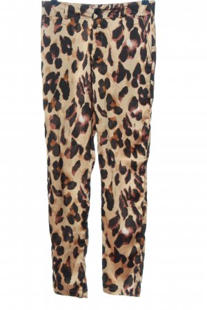 Nasty Gal Pantalone jersey motivo animale stile casual