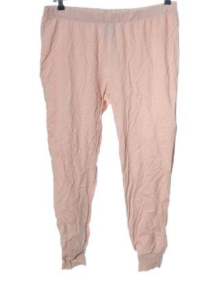Nasty Gal Pantalone jersey crema stile casual