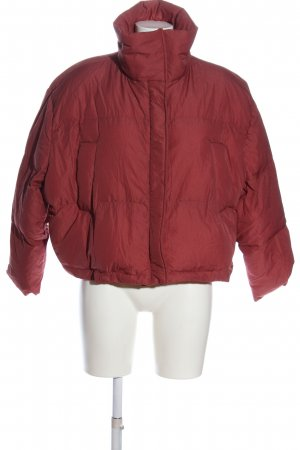 Nasty Gal Winter Jacket red casual look