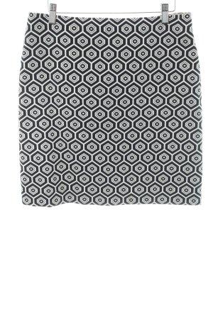 Natan Asymmetrie-Rock schwarz abstraktes Muster Casual-Look