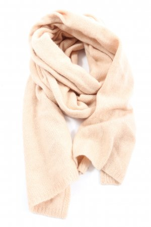 Nath Wełniany szalik kremowy W stylu casual