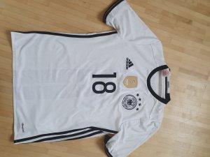 Adidas Sportshirt wit-zwart