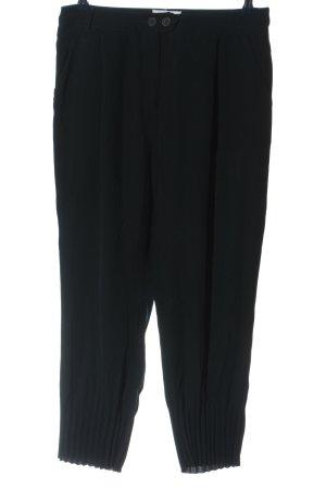 Native Pantalon en jersey noir style décontracté
