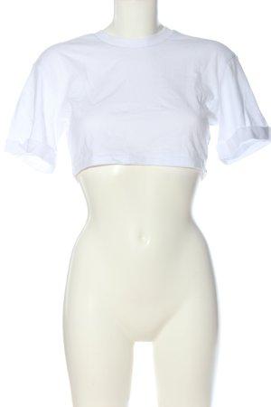 Native Youth T-shirt court blanc style décontracté