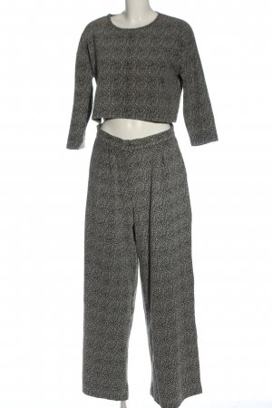 Native Youth Knitted Twin Set black-natural white flecked casual look