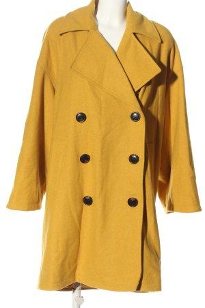 Native Youth Cappotto mezza stagione giallo pallido stile casual