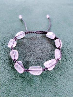 Natürliche Stein Klare Kristall Quarz Armband